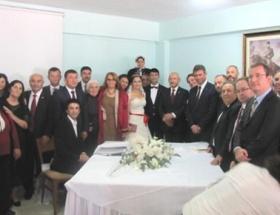 Cezaevindeki nikah töreninden ilk kare