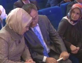 Emine Erdoğan Fati ile buluştu