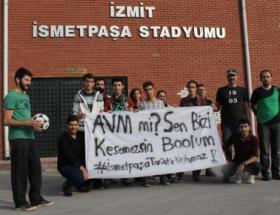 Taraftardan AVM protestosu