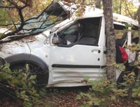 Gaziantepte midibüs devrildi: 1 ölü, 6 yaralı