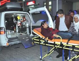 Rasulayndan atılan mermiyle yaralandı