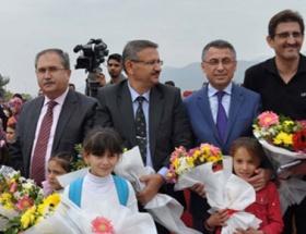 UNICEFden çadır kente okul