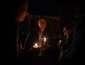 Bulgaristanda ırkçılık protestosu