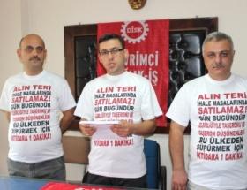 Dev Sağlık İşten protesto