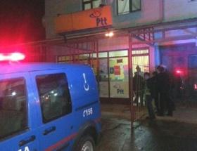 Şanlıurfada silahlı PTT soygunu