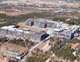 Başbakanlık inşaatına temsili mühür