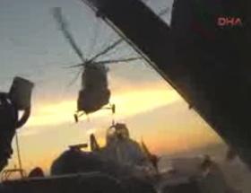 Greenpeacein gemisine müdahale görüntüleri yayınlandı