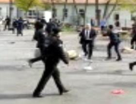 Marmara Üniversitesinde kavga