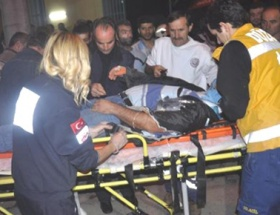 Düzcede trafik kazası: 1 yaralı