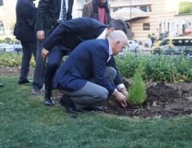 Gezi Parkına sürpriz ziyaret