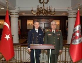 Necdet Özel, NATO komutanını ağırladı