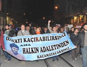 Eskişehirde Ali İsmail Korkmaz protestosu