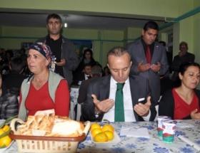 Tunceli Valisi, Cemevinde iftar yemeği verdi