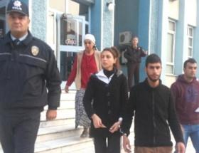 Abla-kardeş hırsızlıktan tutuklandı