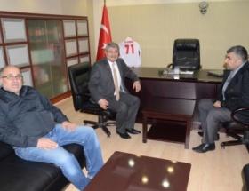 Ahmet Turguttan Korkmaza ziyaret