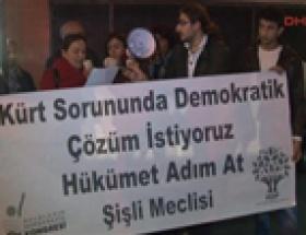 HDPden aşureli protesto
