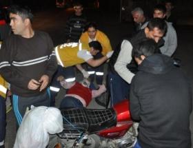 İki motosiklet çarpıştı: 4 yaralı