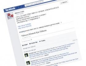 Facebookta bu mesaja dikkat!
