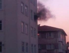 İlköğretim okulunda yangın