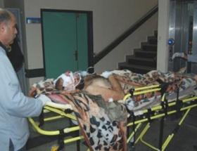 Suriyeli 3 yaralı Nizipe getirildi