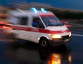 Otobüsle TIR kafa kafaya çarpıştı: 1 ölü, 6 yaralı