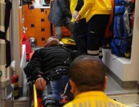 Şanlıurfada minibüs devrildi: 5 yaralı