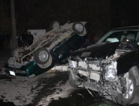 Aksarayda trafik kazası: 4 yaralı