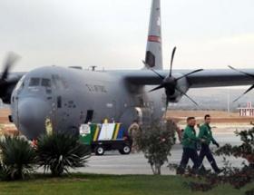ABD uçakları Gaziantepte