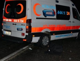 Hakemler stattan ambulansla çıktı