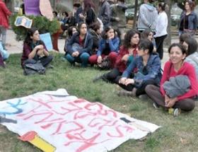 Hatayda kadına şiddet protestosu