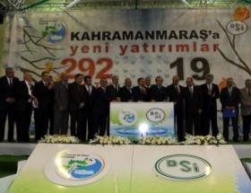 Bakan Eroğlu, 19 tesisin temelini attı