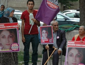 Kadın cinayeti davasında protesto