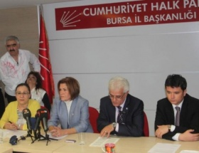 CHP İl Başkanlığıda kadına şiddet uygulamalı anlatıldı
