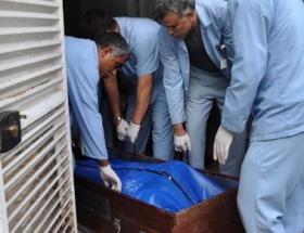 Elbistanda yanmış erkek cesedi bulundu