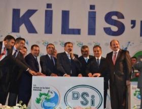Bakan Eroğlu, 3 tesisin temelini attı