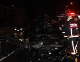 Tekirdağda trafik kazası: 4 yaralı