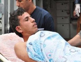 Çadırkentte trafo patladı: 3  yaralı