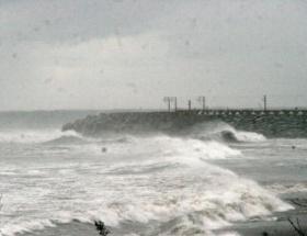 Trabzonda şiddetli fırtına