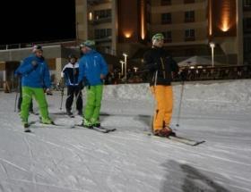 Palandökende kayak sezonu başladı