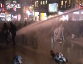 Galatasarayda polis müdahalesi