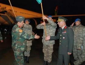 Libyalı askerler eğitim için geldi