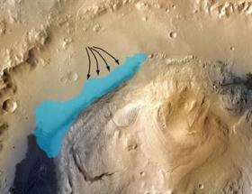 Mars gölünde yaşam izleri