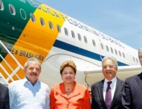 Brezilyalı liderler, Mandelanın cenazesinde