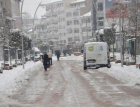 Karsta okullar tatil edildi