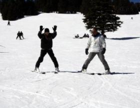 Uludağda kar kalınlığı 55 santimetre
