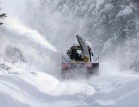 Kastamonuda 565 köy yolu kapalı