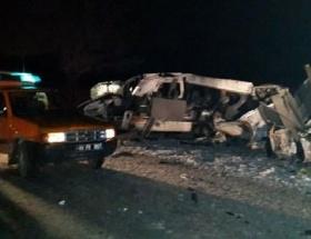 Balıkesirde trafik kazası: 1 ölü