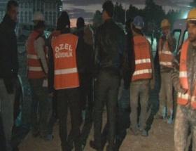 Başbakanlık binası inşaatında çalışan işçiler zehirlendi