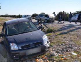 Kozanda trafik kazası: 9 yaralı