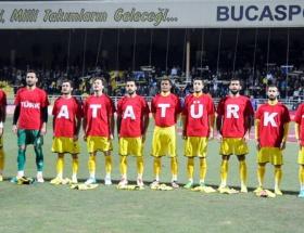 Şimdi de Bucaspordan tişörtlü mesaj!